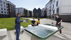 table tennis accommodation