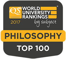 Top 100 Philosophy Departments Worldwide