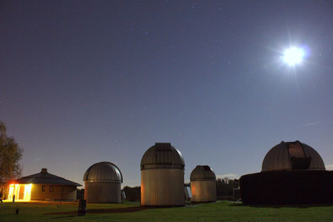 The Observatory by moonlight