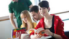 English language and Preparatory courses