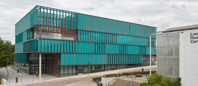 Exterior of the Science building on College Lane campus