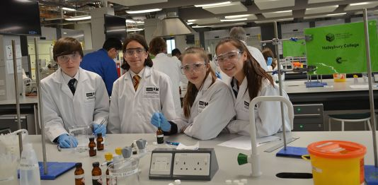 University hosts Salter's Festival of Chemistry in partnership with The Royal Society of Chemistry