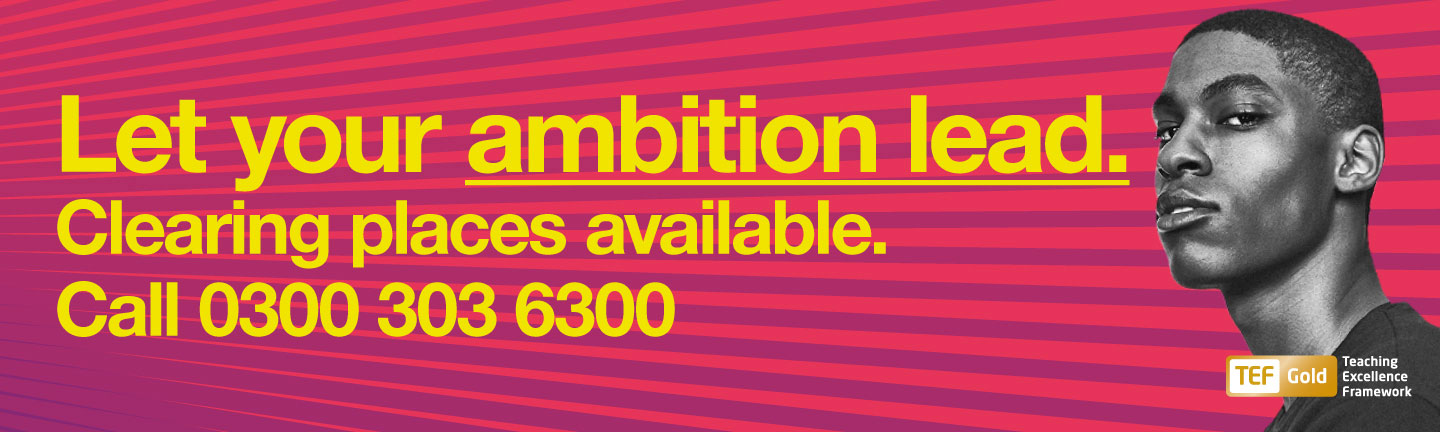 Let your ambition lead