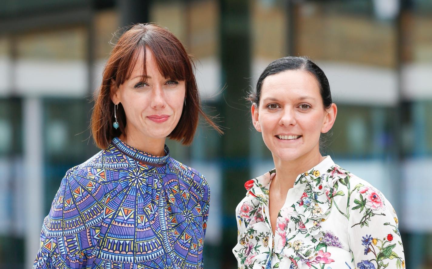 Geri Ward and Claire Hartridge