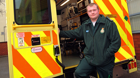 Placements with East of England or London Ambulance Service