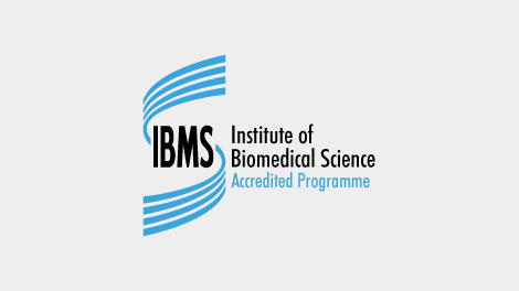This course is accredited by the Institute of Biomedical Science