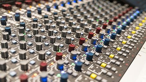 Professional grade recording studios hosting AMS Neve consoles