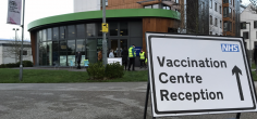 COVID-19 vaccination centre opens at the University of Hertfordshire