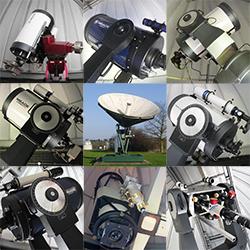9 telescopes