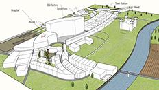 Virtual town by Dr Thomas Dunk