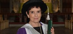 Inspirational Holocaust educator and former headteacher Dame Helen Hyde DBE honoured by the University