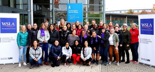 University of Hertfordshire helps leading female coaches to further develop their potential