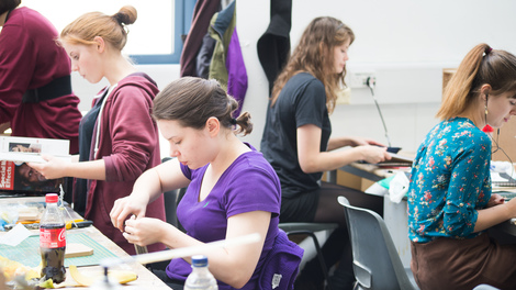 Join a creative community and develop projects in your own studio