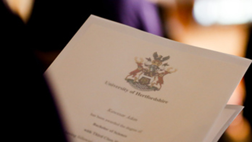 a degree certificate