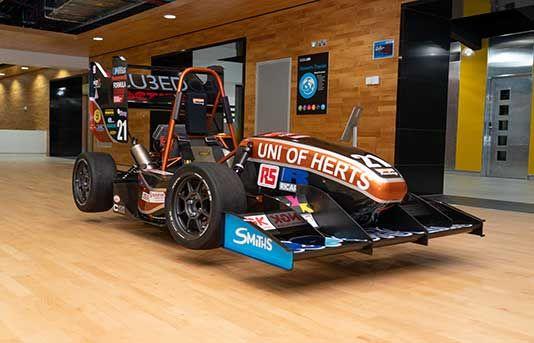 New Formula Student 2018 racing car unveiled