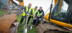Building work begins after University breaks new ground