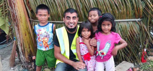 Alumnus helps victims of tsunamis, earthquakes, flash floods and landslides across Indonesia