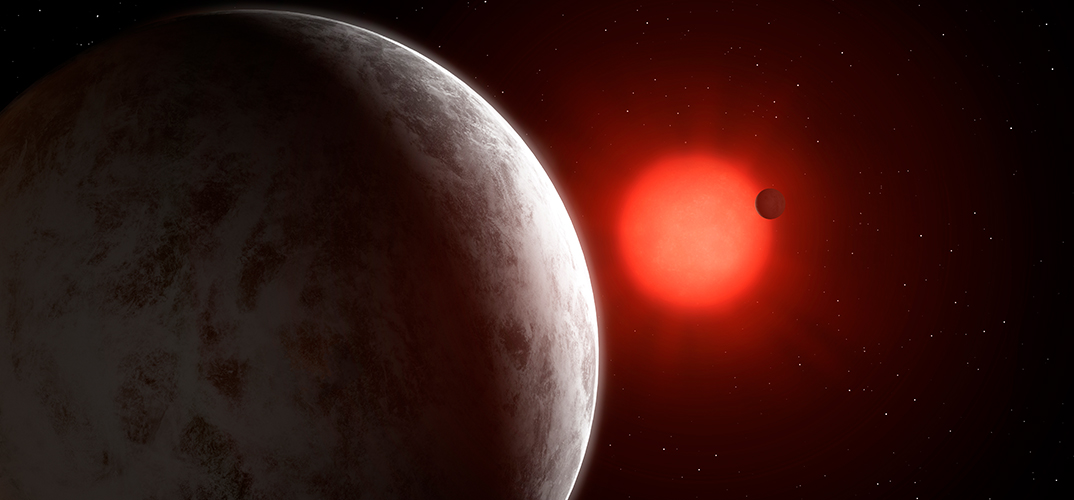 Super-Earth planets detected orbiting nearby star