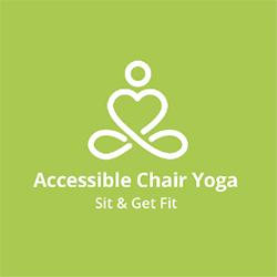 Accessible chair yoga logo