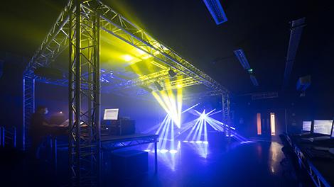 Live sound & lighting rig hosts d&b, DiGiCo, Avolites & more