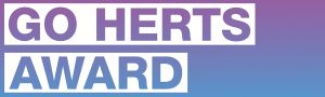 artwork for Go Herts Award