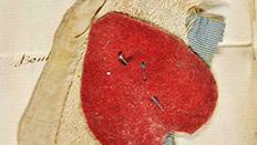 Red textile fabirc