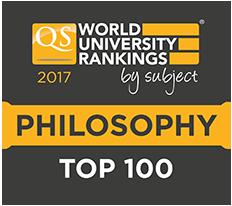 Top 100 Philosophy Departments Worldwide