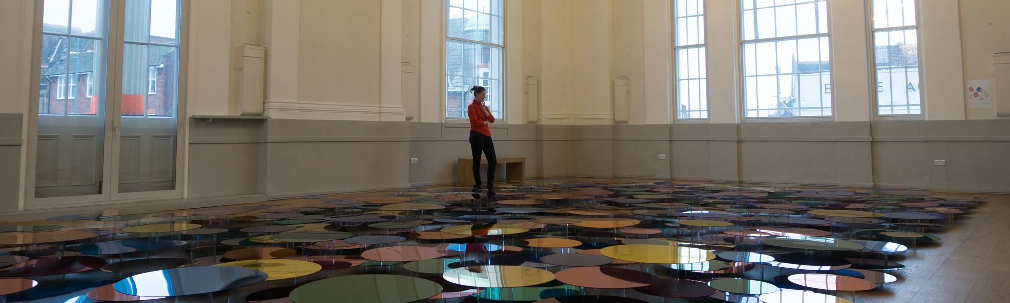 Liz West, Our Colour Reflection, UHArts