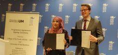Hertfordshire signs Progression Agreement with College of North Atlantic, Qatar