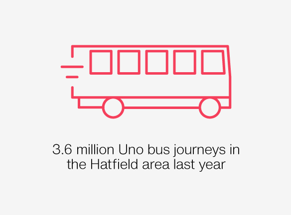 3.6 million Uni bus journeys