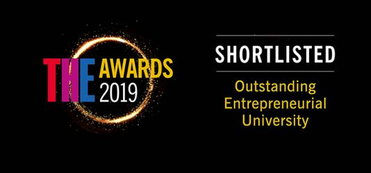 University of Hertfordshire shortlisted for three Times Higher Education Awards 2019