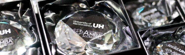 University of Hertfordshire celebrate MBA successes