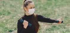 Why it could be dangerous to exercise with a face mask on