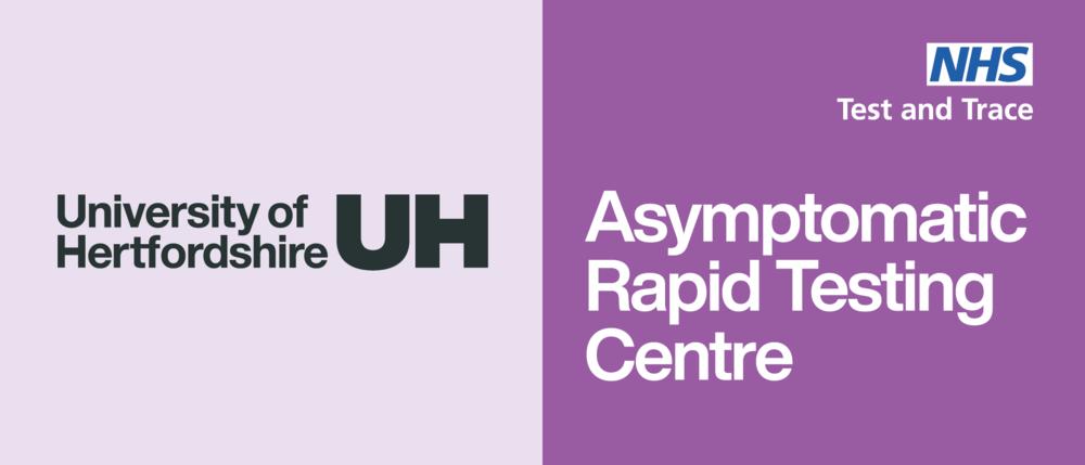 university of hertfordshire rapid testing logo