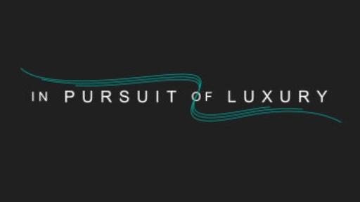 In pursuit of luxury logo