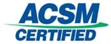 ACSM logo