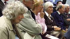 Heritage seminar audience