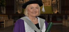 Former NSPCC CEO and leading local figure Dame Mary Marsh honoured by the University