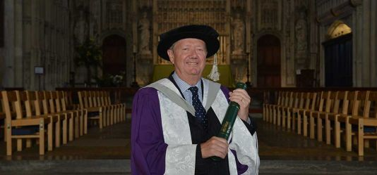 Successful marketer and former Managing Director of Sony UK David Pearson honoured by the University