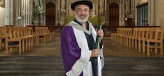 Award-winning local playwright, screenwriter and film director Jeremy Butterworth honoured by the University