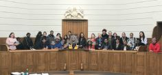 Law students and staff recreate trials of the past