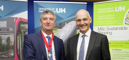 Royal Town Planning Institute grants accreditation to the University of Hertfordshire for its MSc Sustainable Planning degree