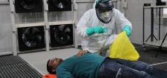 Specialist testing measures PPE effectiveness against COVID-19