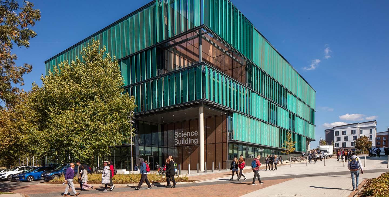 Science Building external