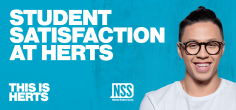 University of Hertfordshire receives positive student feedback in latest NSS results