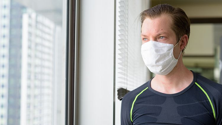 Exercise and eating in the pandemic