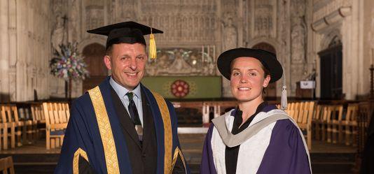 Alumni receive Honorary Doctorates at September ceremonies