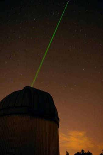 Observatory laser