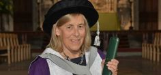 Pioneer in bioinformatics Professor Dame Janet Thornton DBE honoured by the University