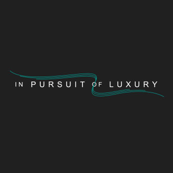 In pursuit of luxury logo